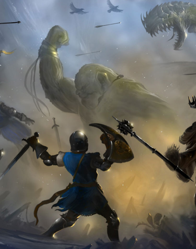 Let the Battle Commence with these Fantasy Battle Wallpapers