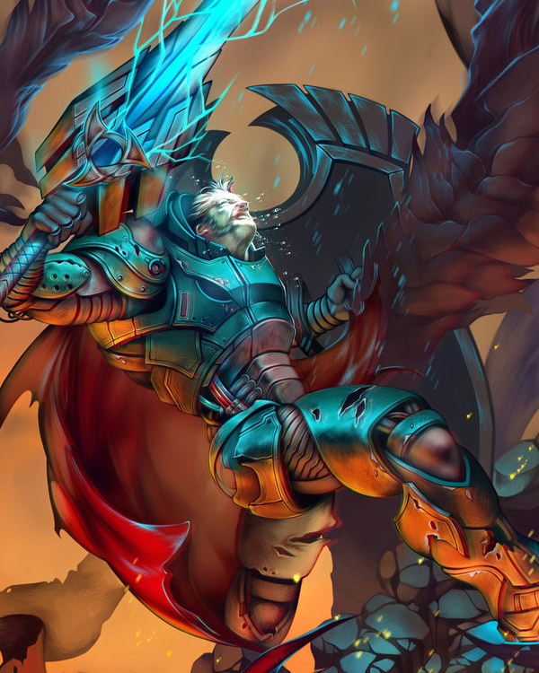 Lineage Inspired Fantasy Art Featuring Sinto-risky