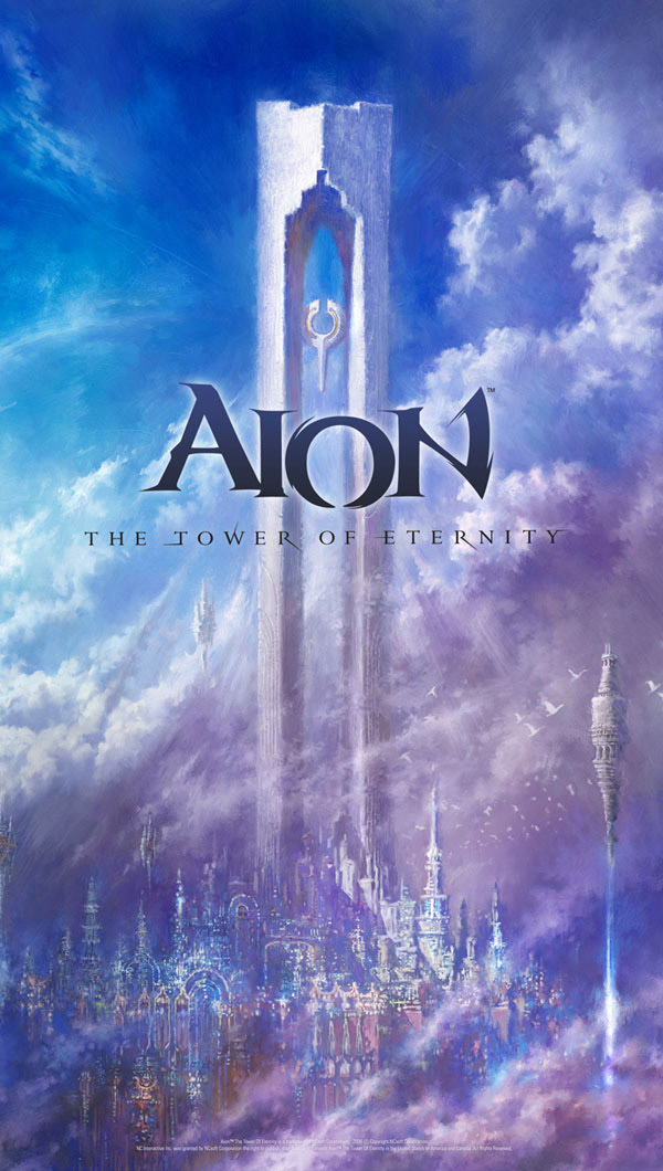 Official Aion Concept Art & Promotional Posters - Reviewed