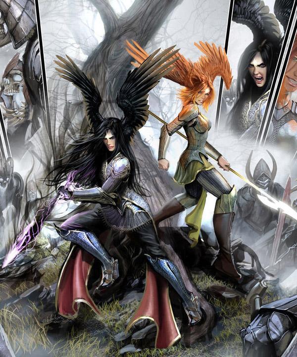 Fantasy Comic Book Art Featuring Stjepan Sejic