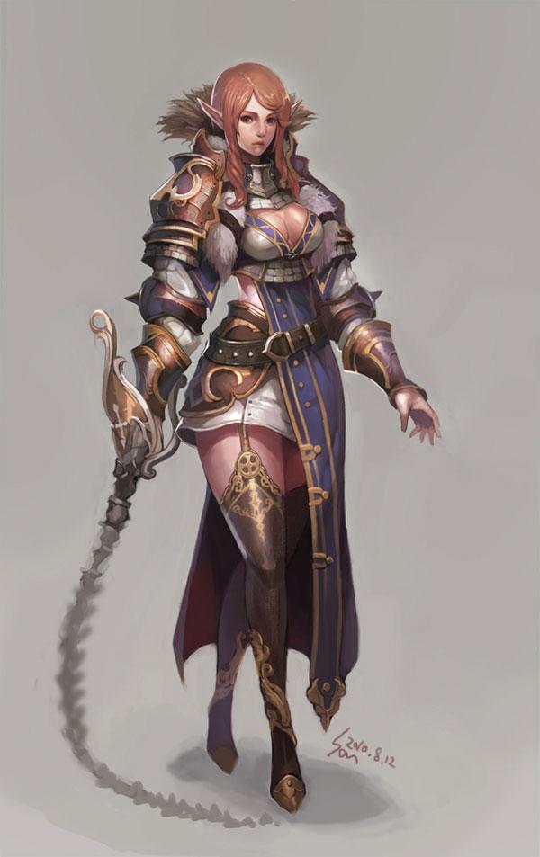 Fantasy Art Featuring Ragnarok Online 2 Concept Artist Nawol