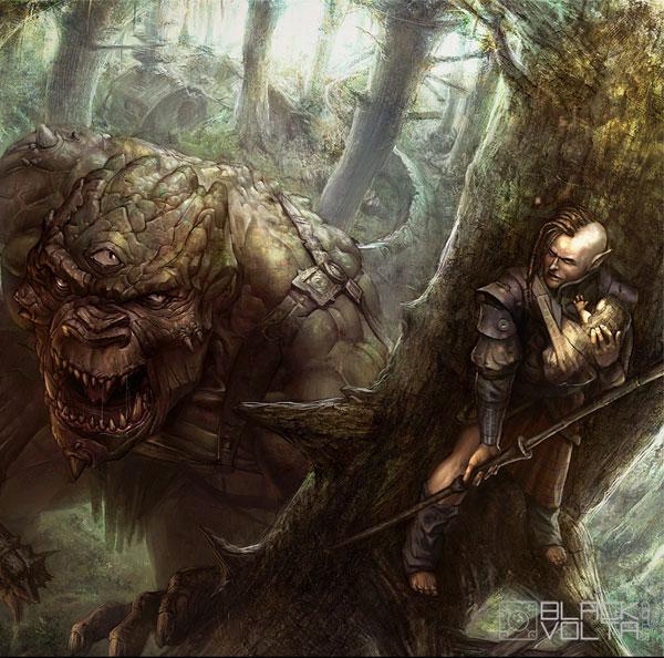 Fantasy Art Featuring Blackvolta Studio artist Nestor Ossandon