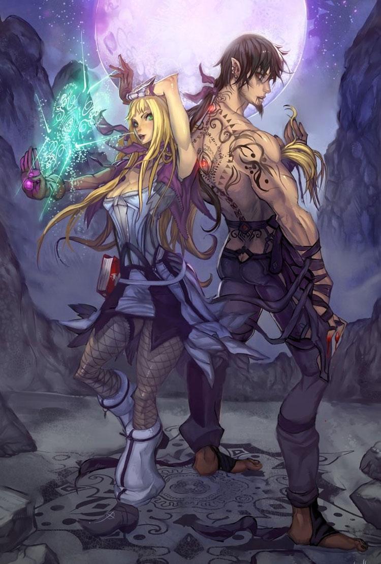 Surreal Anime Inspired Fantasy Art by Illustrator Elsevilla