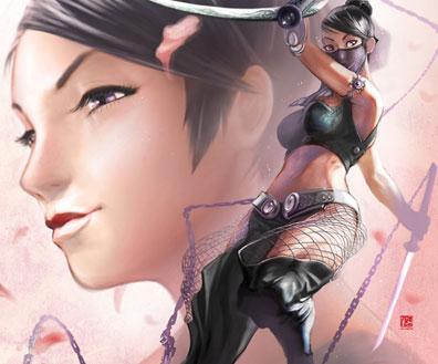 Extraordinary Art Work Featuring Video Game Artist Hoon