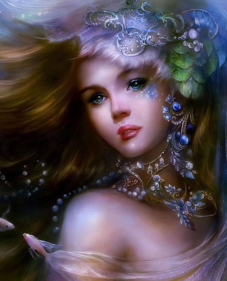 عکس دخترانه زیبا و فانتزی