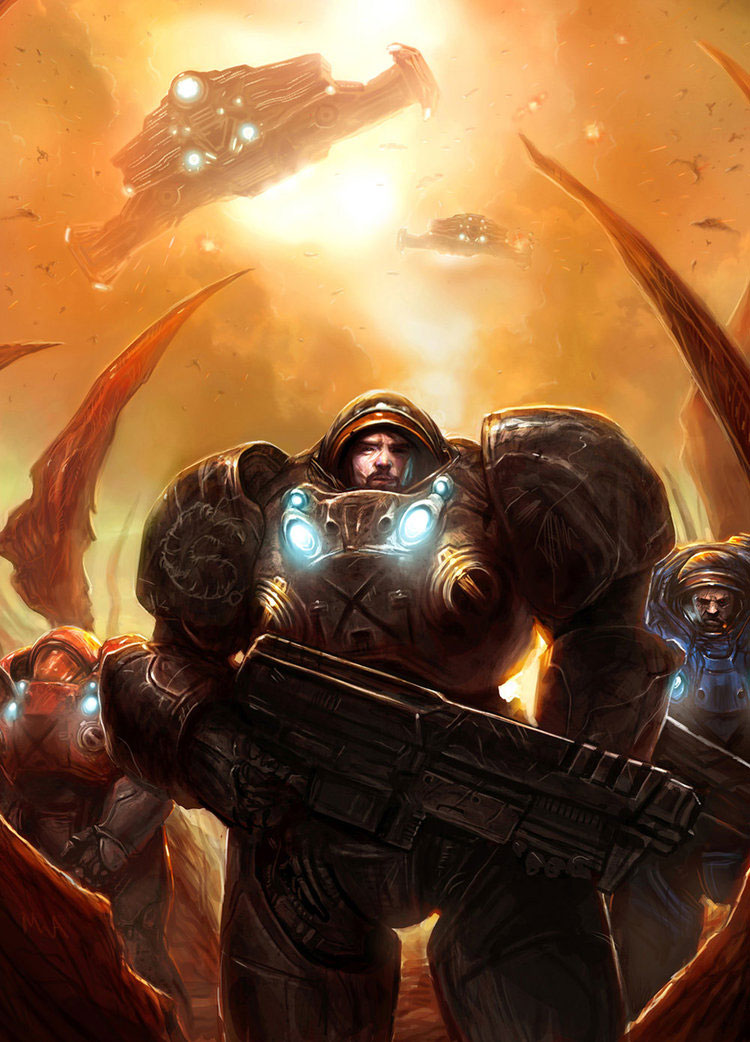 Starcraft II Reviewed & Including Exceptional Fan Art