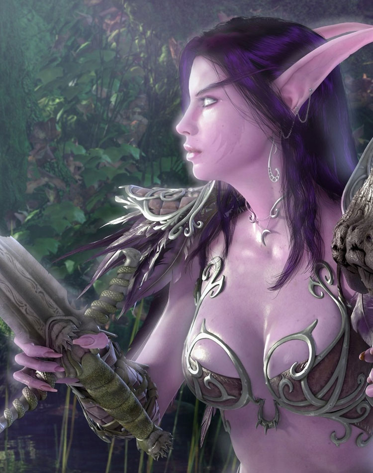 Make Your Desktop Beautiful With These Elven Wallpapers